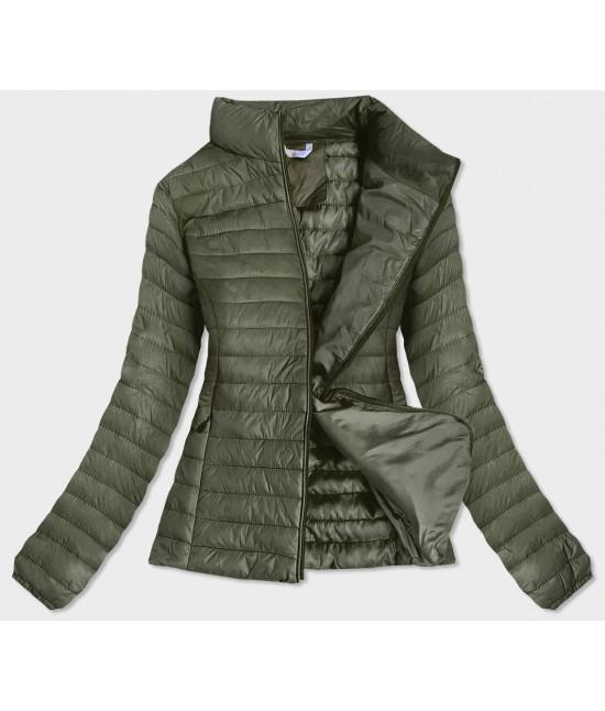 Dámska jarná bunda MODA651 khaki M