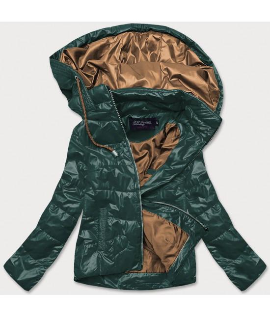 Dámska jarná bunda MODA2005BIG zelená