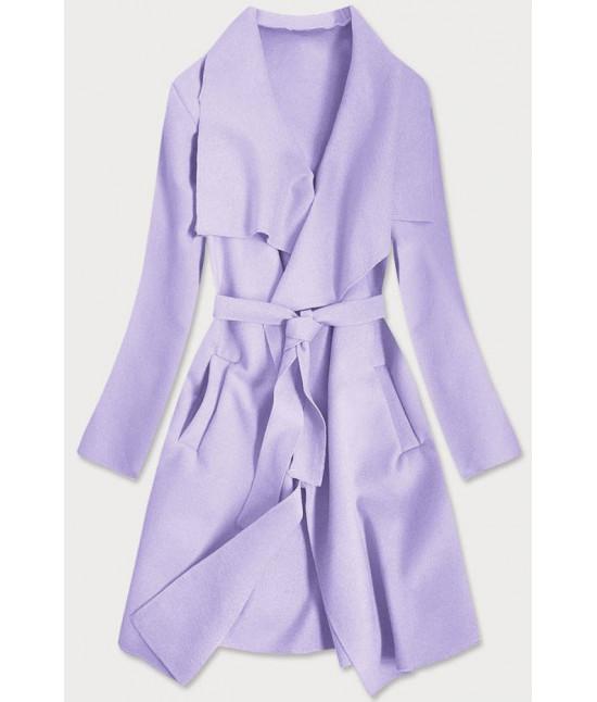 Dámsky kabát MODA678 fialový