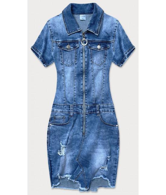 Dámske jeansové šaty MODA622
