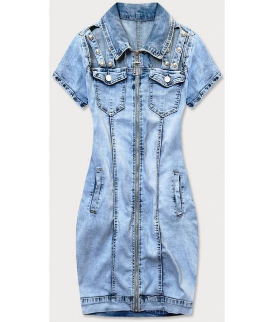 Dámske jeansové šaty MODA610
