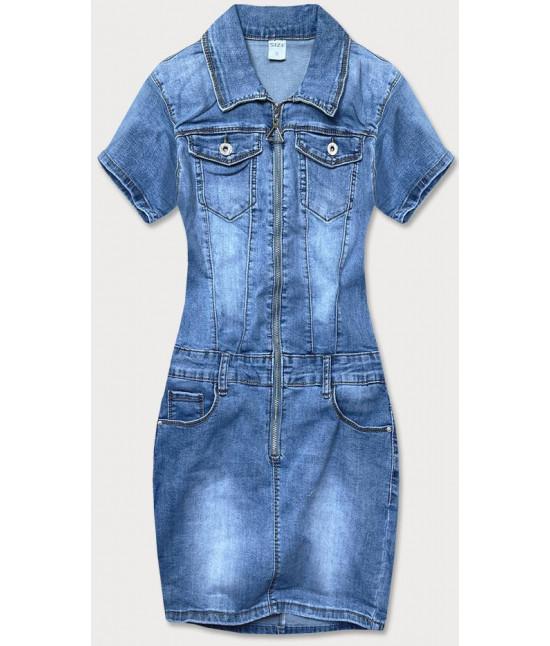 Dámske jeansové šaty MODA607