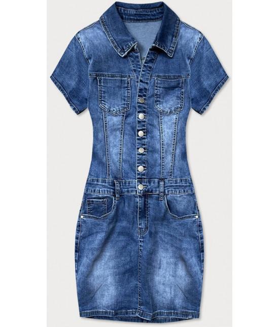 Dámske jeansové šaty MODA665 veľkosť M