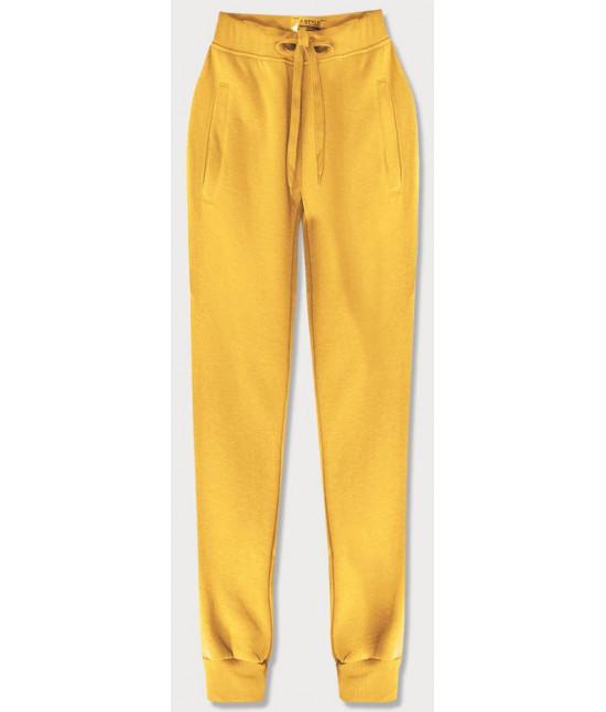 Dámske tepláky MODA01-028 žlté