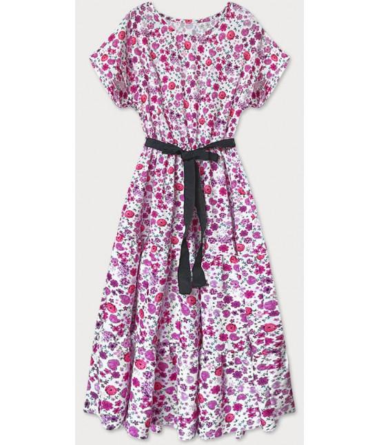 Dámske šaty MODA688 ružové