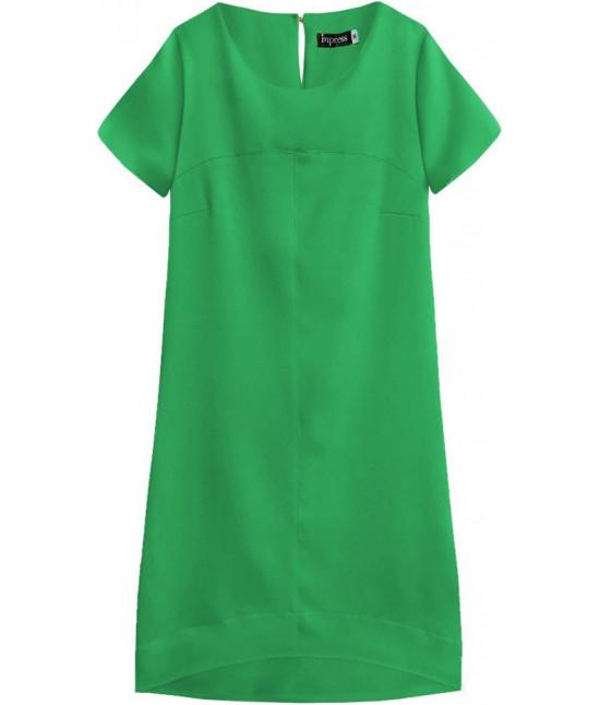 Dámske letné šaty MODA435 zelené veľkosť XL