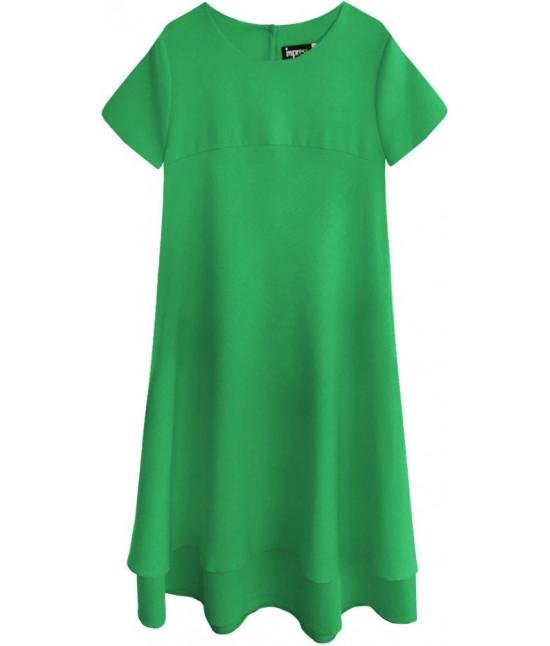 Dámske letné šaty MODA436 zelené L