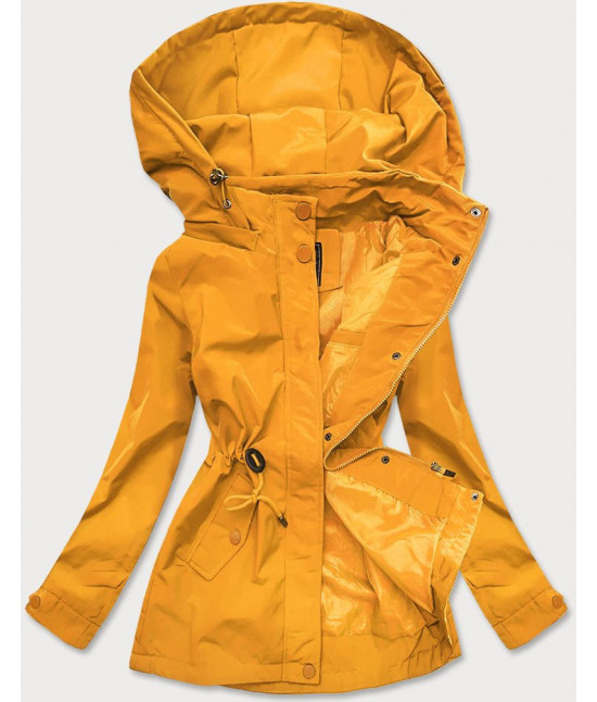 Dámska jarná bunda parka MODA364 horčicová L