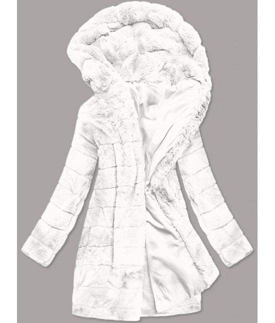 Dámska zimná bunda MODA746 biela