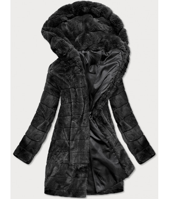 Dámska zimná bunda MODA746 čierna