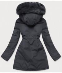 damska-zimna-bunda-s-ozdobnou-podsivkou-moda576-tmavoseda
