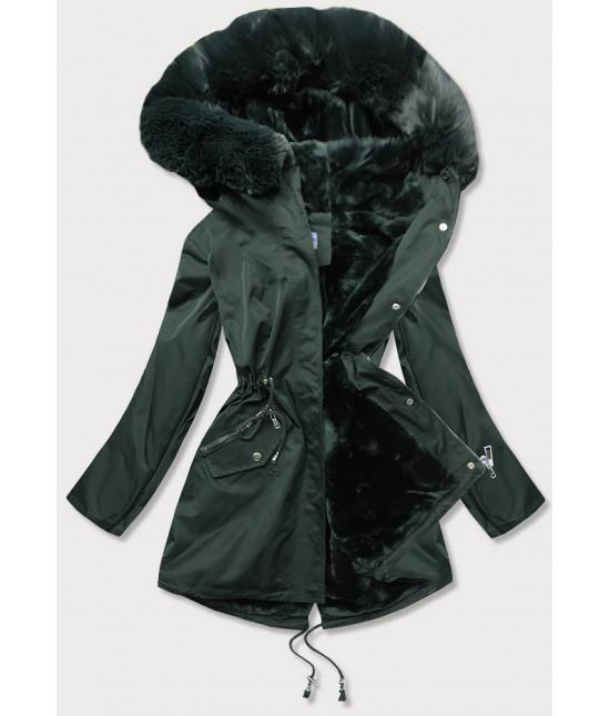 Dámska zimná bunda MODA718 zelená