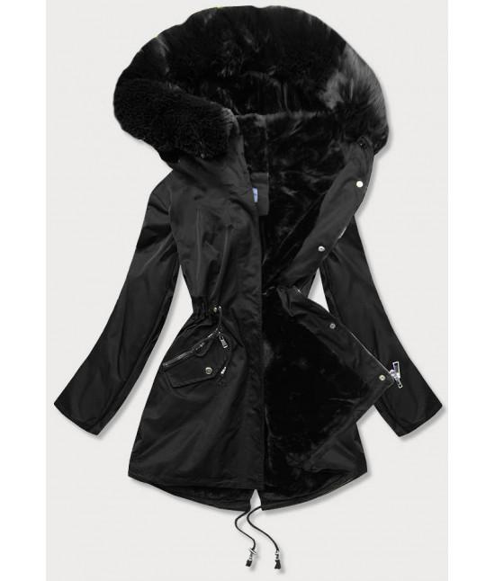 Dámska zimná bunda MODA718 čierna