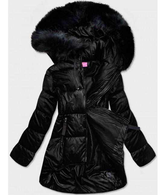 damska-asymetricka-zimna-bunda-moda8953-cierna