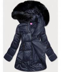 damska-asymetricka-zimna-bunda-moda8953-tmavomodra