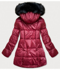 damska-asymetricka-zimna-bunda-moda8953-bordova
