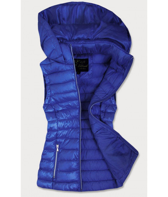 Dámska vesta MODA7000 modrá veľkosť L